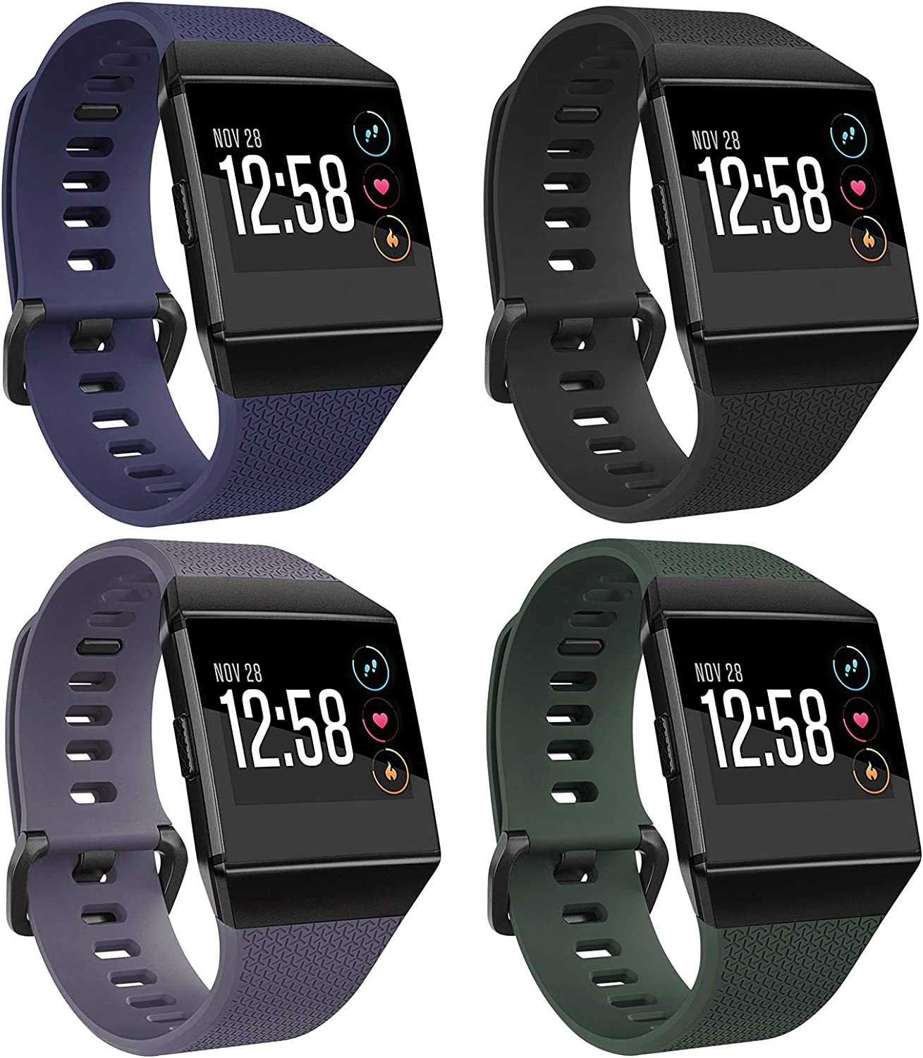 Straps Perforated Strap Replacement Band for Fitbit Ionic Wristband for sport