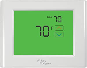 Emerson UP400 Touchscreen 7-Day Programmable Thermostat With Home/Sleep/Away Presets