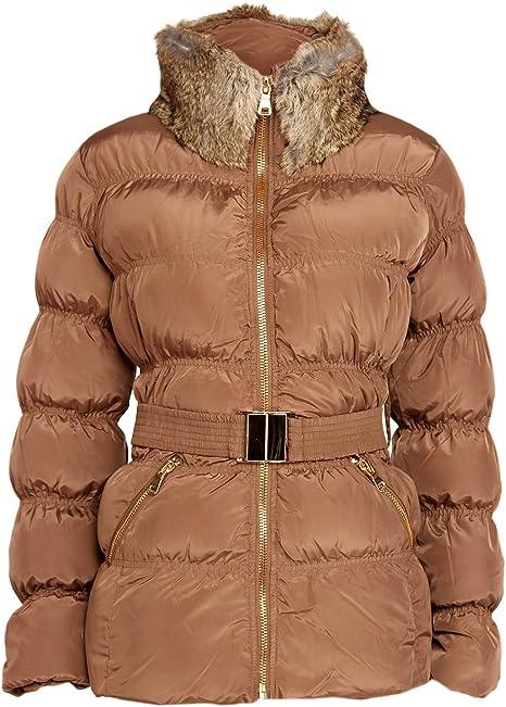 Damen Daunenjacke Edel Steppjacke Winterjacke Jacke Daunen