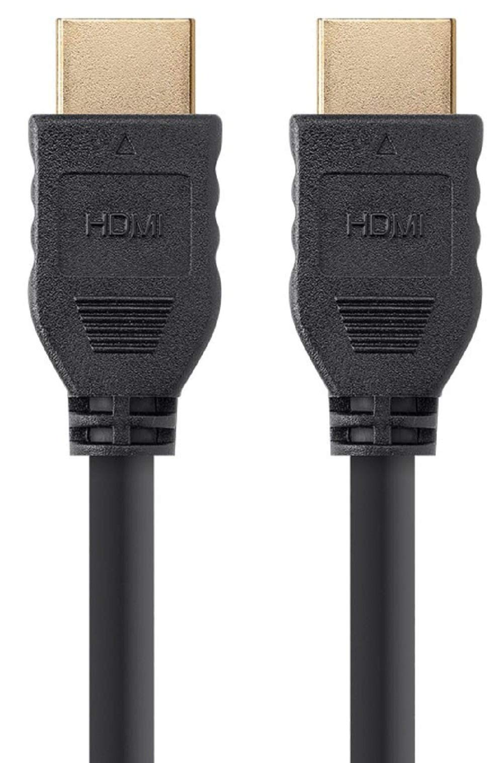 Cable HDMI de alta velocidad Monoprice - 10 pies - Negro | Sin logotipo, 4K @ 60Hz, HDR, 18Gbps, YUV 4: 4: 4, 30AWG, CL2