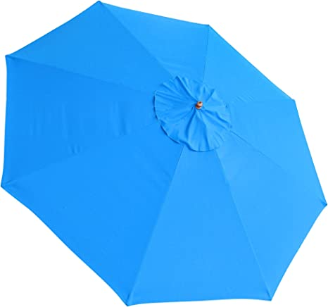 13ft 8 Rib Patio Umbrella Replacement Cover Canopy Outdoor Market Beach Deck Top Amazon Ca Patio Lawn Garden