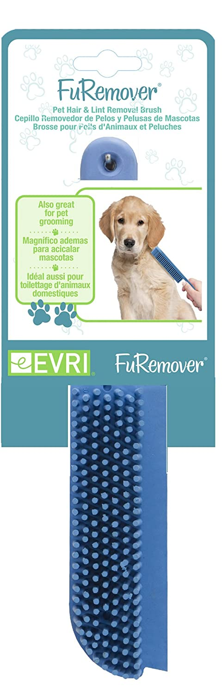 : Amazon.com: Evriholder FURemover Pet Hair Remover Brush, Blue