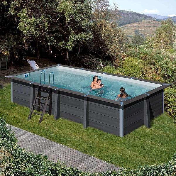 TOI - Piscina desmontable redonda modelo canarias + kit verano y ...