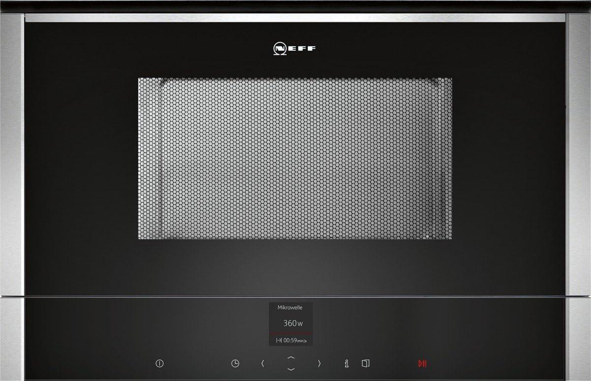 Neff CWR 1700 N - Microondas sencillos, incorporado, 21 l, 900 W, color negro