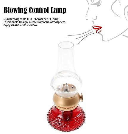 Amazon.com: Feifuns - Lámpara vintage de queroseno, retro ...