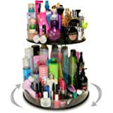 Professional Size Cosmetic Organizer that Spins and Divas will Love It Too! Now in Clear. Proudly Made in the USA! by PPM.