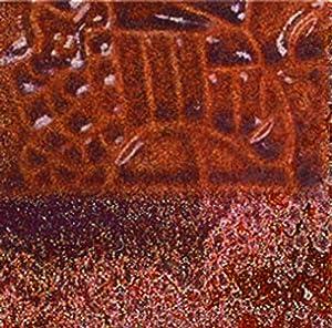 Mayco Elements Glaze, Copper Adventurine EL-121, 1 Pint - 407345