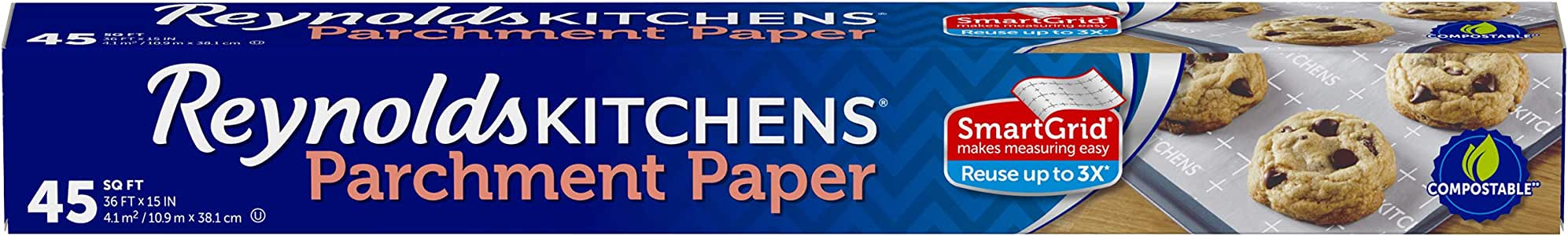 Reynolds Kitchens Parchment Paper, 15 in, 45 Sq Ft