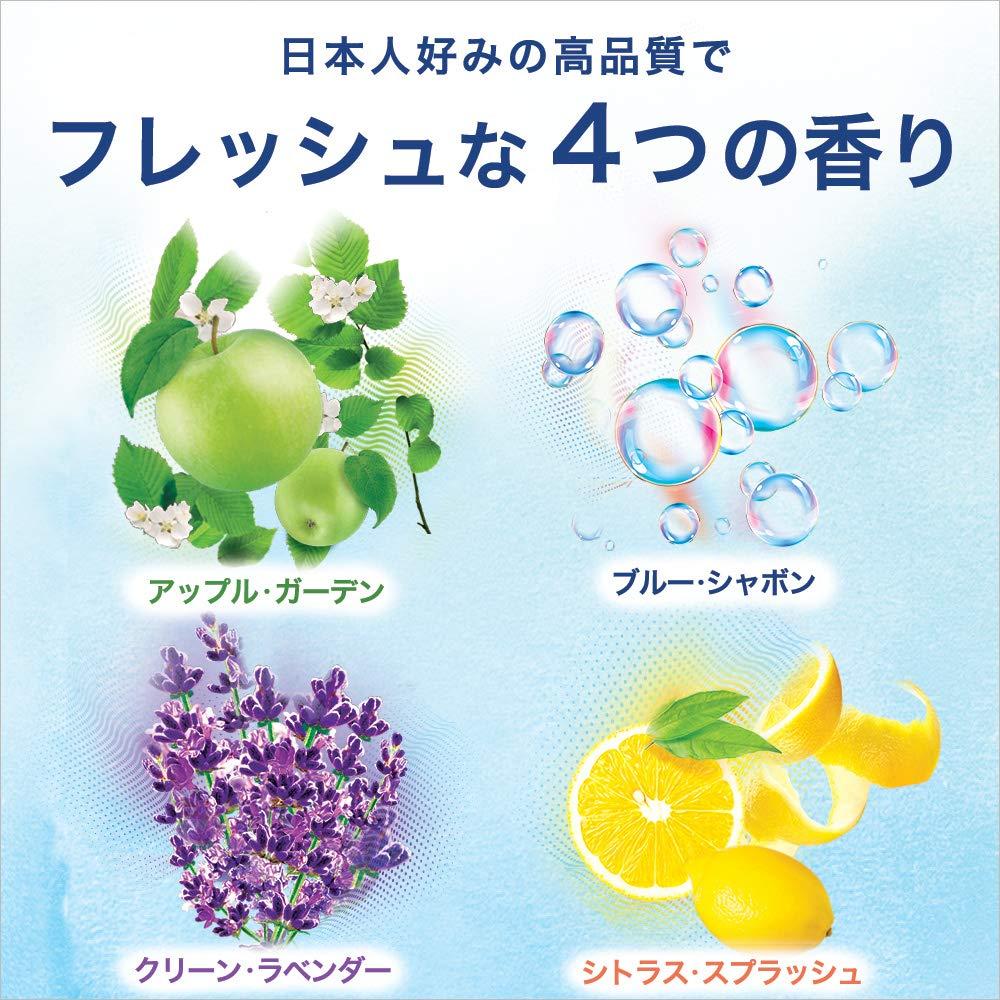 トイレ用消臭芳香剤の香り