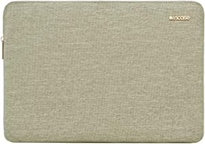 Incase Slim Foam Padded Sleeve with Accessory Pocket for Most Tablets + Laptops up to 13 inches - Heather Khaki