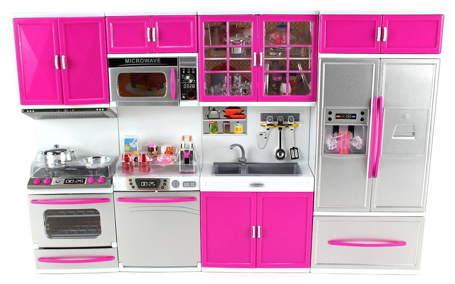Buy Param Barbie Doll Playsets My Modern Kitchen 32 Full Deluxe