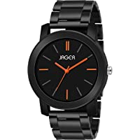 Jager Black Color Analogue Men's Watch
