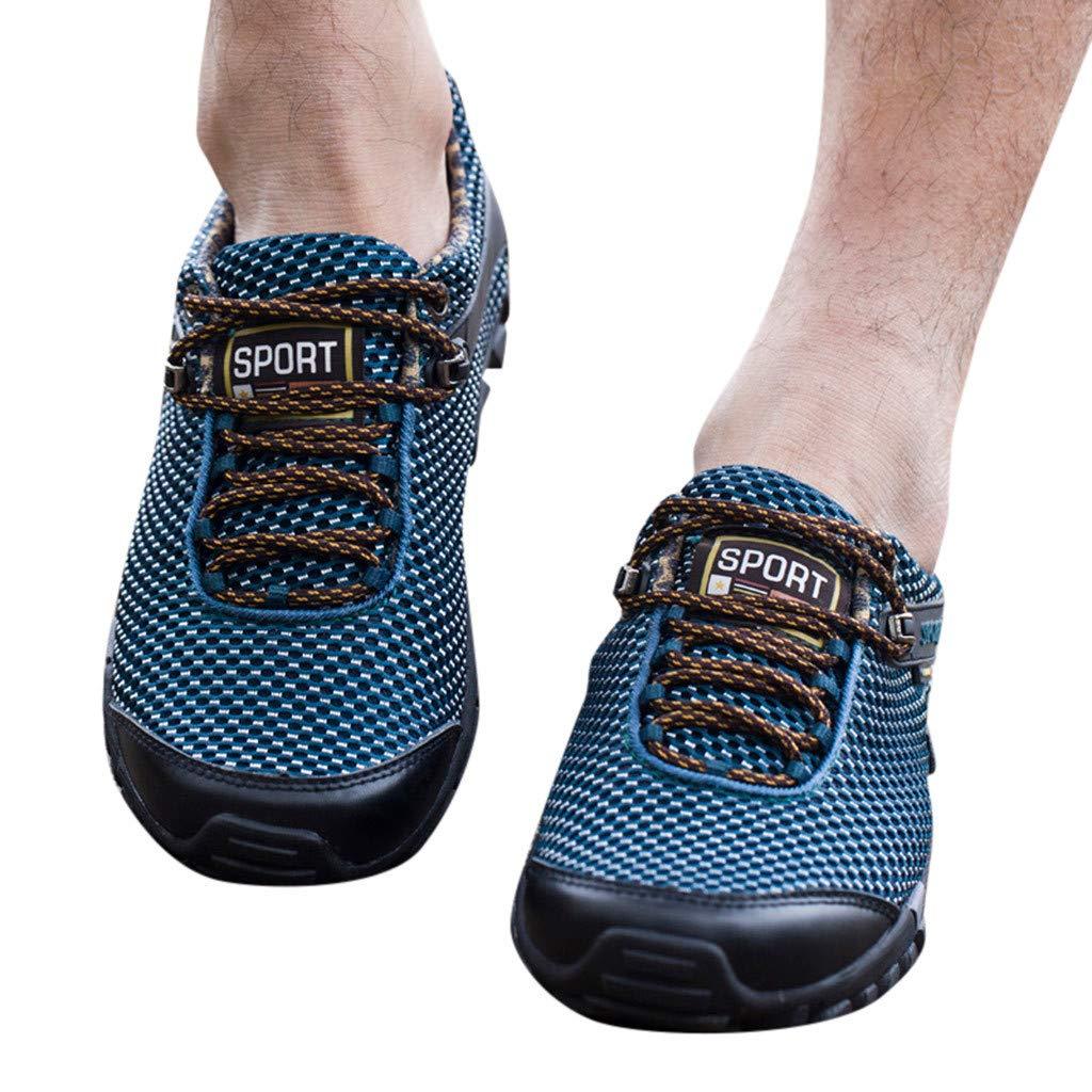 BESSKY Homme Baskets Chaussures De RandonnéE Estivales en