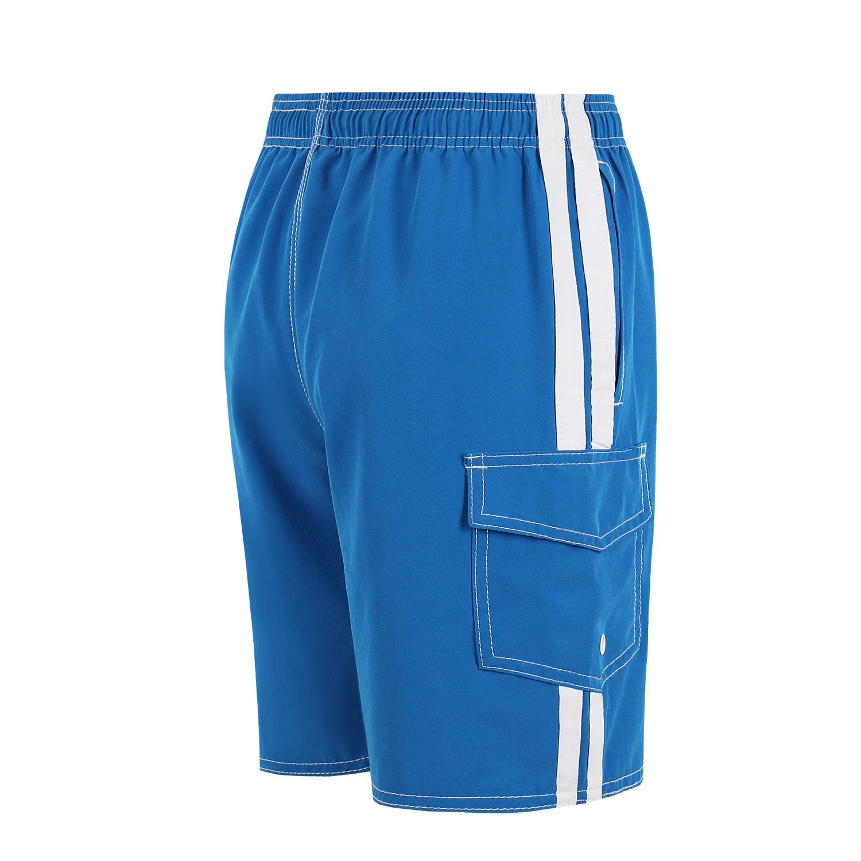 6c705b8dd7 QRANSS Boys Swim Trunks Shorts Bathing Suit with Cargo Pockets larger image