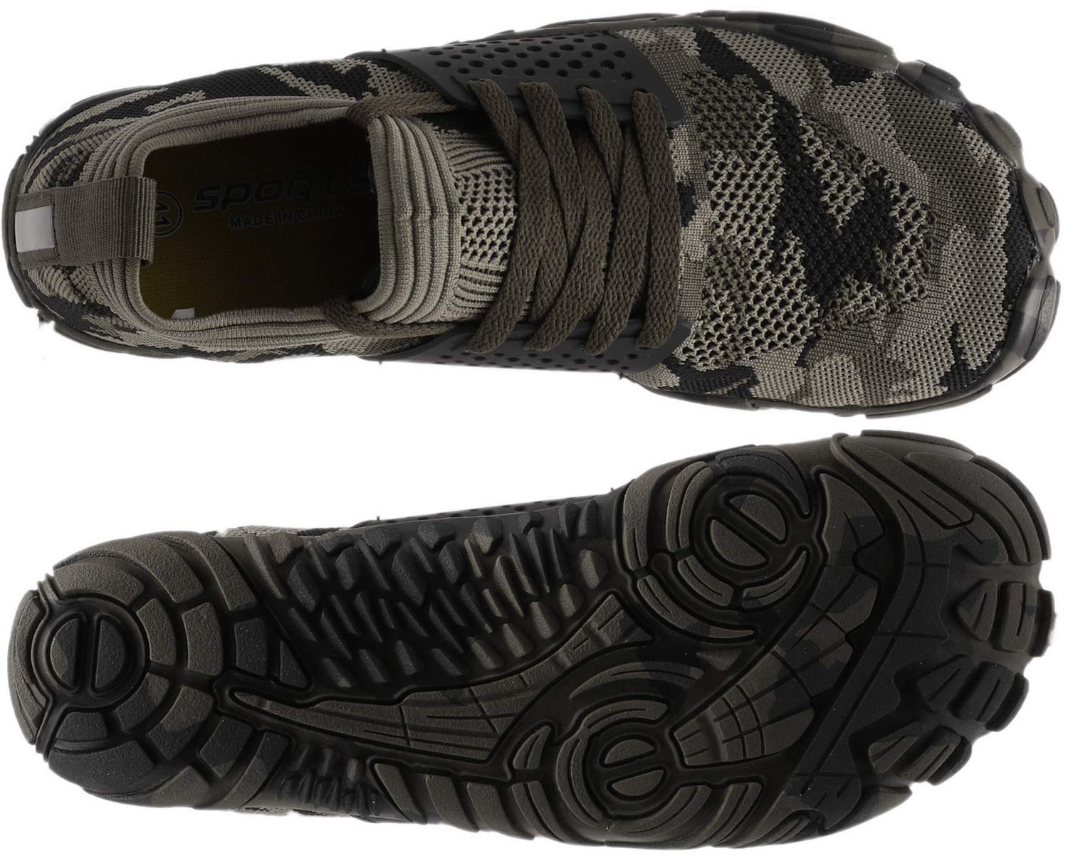 WHITIN Men Minimalist Trail Runner  Wide Toe Box  Barefoot Inspired
