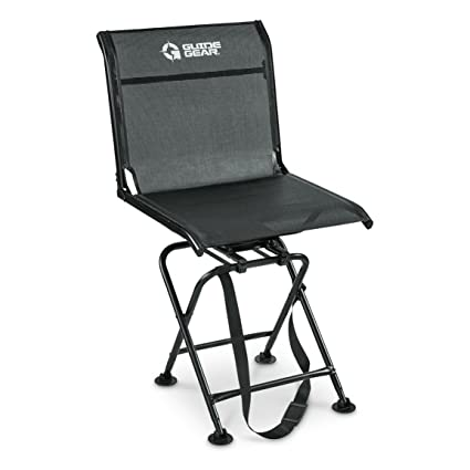 compact blind chairs index chair black easy carry hunting swivel ts gear product blinds stools guide