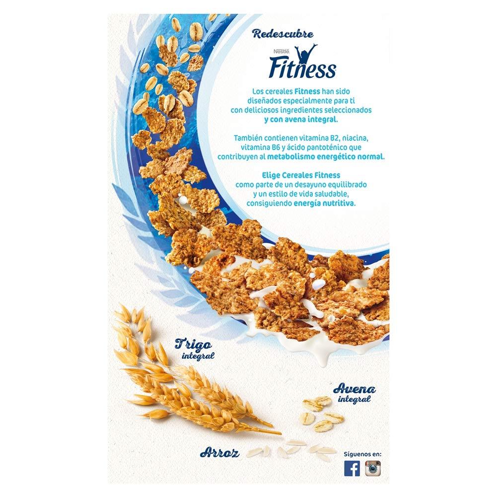 Cereales Nestlé Fitness Original - Copos de trigo integral, arroz y avena integral tostados - 3 paquetes de cereales de 750g: Amazon.es: Alimentación y ...