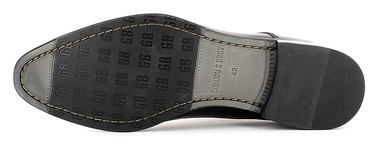 Gordon & & & Bros Herren Businessschuh Mirco S181726,Männer Schnürhalbschuh,Derby,Business-Schuh,Anzugschuh,Office-Schuh,Büro-Schuh,Freizeitschuh,schwarz,EU 45 437cf4