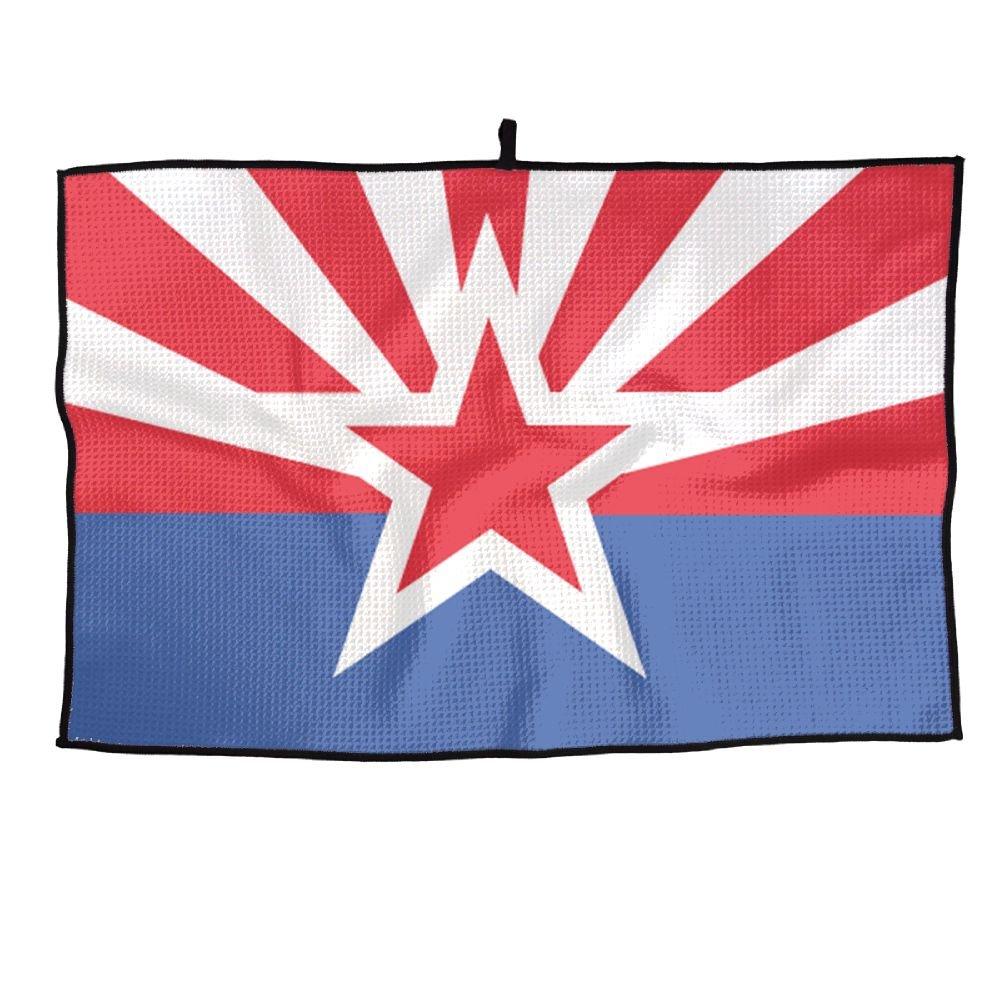 ゲームLife Arizona State Flag Personalizedゴルフタオルマイクロファイバースポーツタオル   B07FC6X4RC