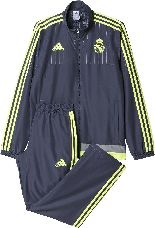 adidas Trainingsanzug PRES Suit Chándal Real Madrid CF 2015-2016 ...