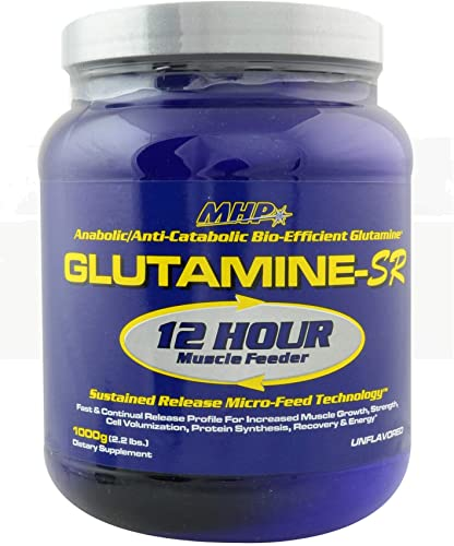 MHP, Glutamine SR, Immune Heatlh, Muscle Recovery, Support Muscle Mass, Speed Recovery, 160 Servings