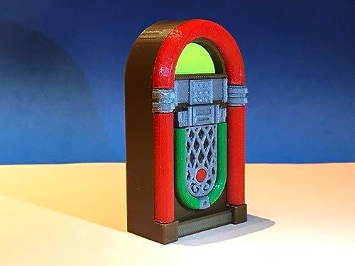 Jukebox Gramola Rockola Miniatura impresión 3d - Escala ...