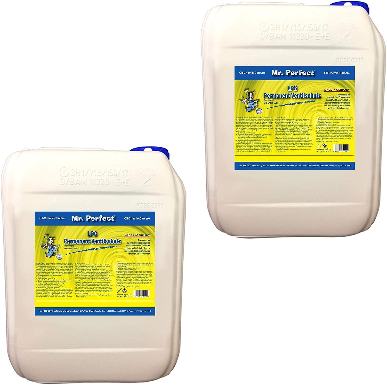 Mr Perfect Lpg Permanent Ventilschutz 2 X 5 Liter Gassystem Schutz Vor Korrosion Und Verbrennungsrückständen Auto