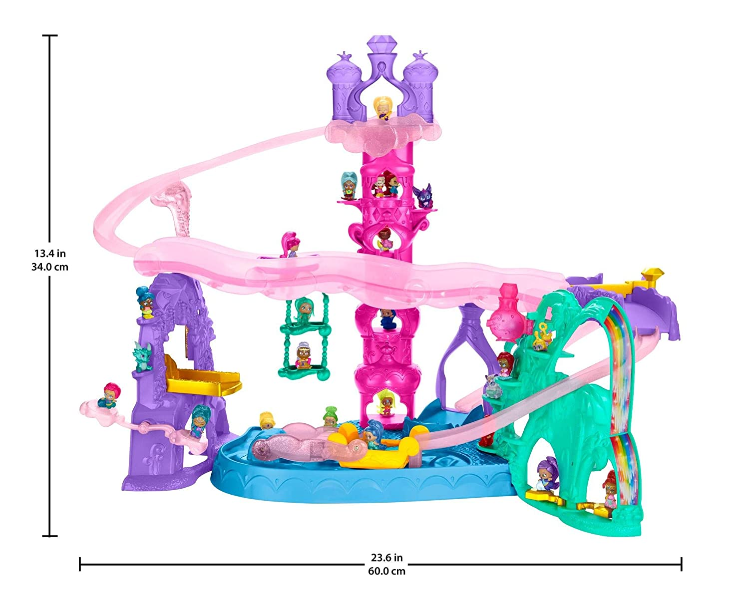 Nickelodeon Shimmer And Shine Teenie Genies Magic Carpet