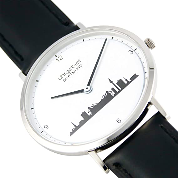 Dortmund Reloj Estrella Hora - uhrgebiet - tu Ciudad. Deine Reloj.: Amazon.es: Relojes