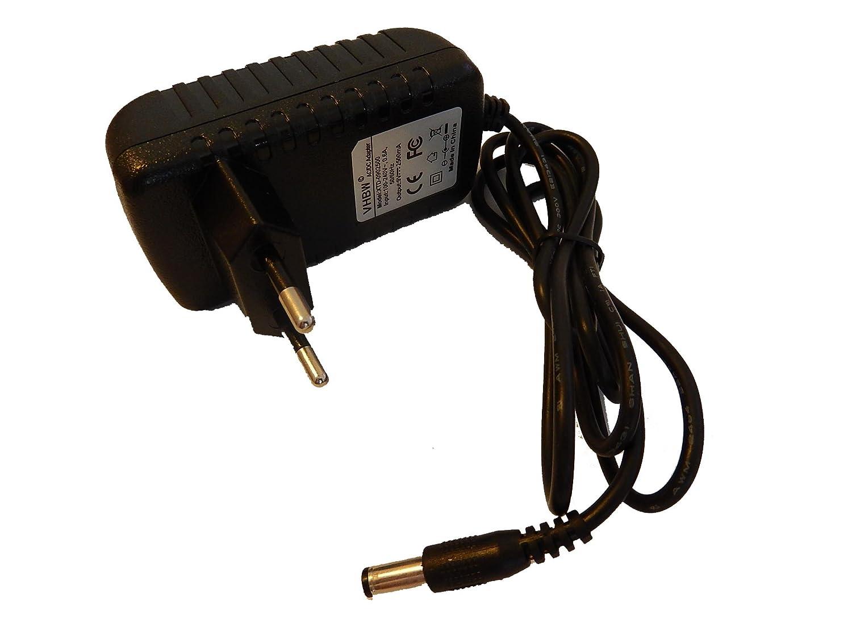 para Roland FP-2 Idena 6805350 vhbw Fuente de alimentaci/ón 220V 22W 6805340 40105 6800533 9V//2.5A Despertador V-Tech 40104 FP-4 FP-3