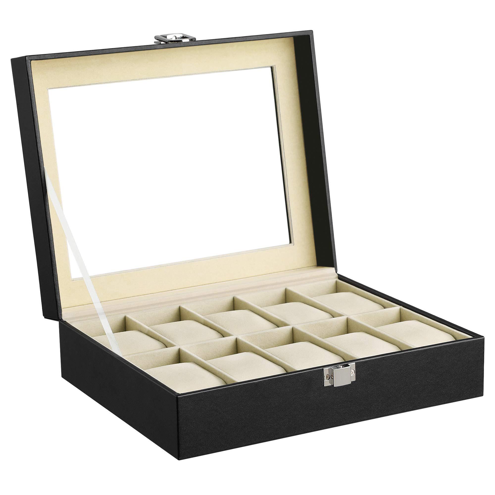 3b3f636ec Mejor valorados en Cajas para relojes & Opiniones útiles de nuestros ...
