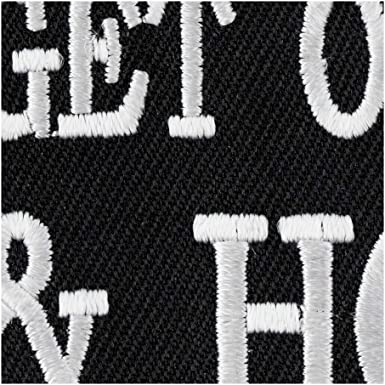 Biker Sayings Patches Get On Shut Up /& Hold On Patch