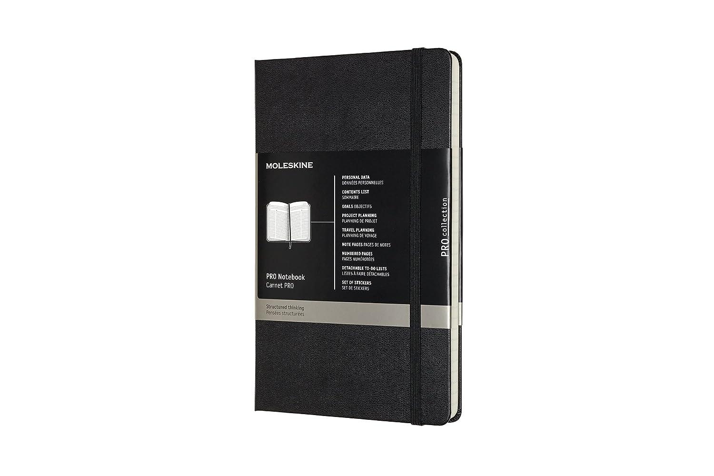 Moleskine PRO Notebook, Hard Cover, Large (5