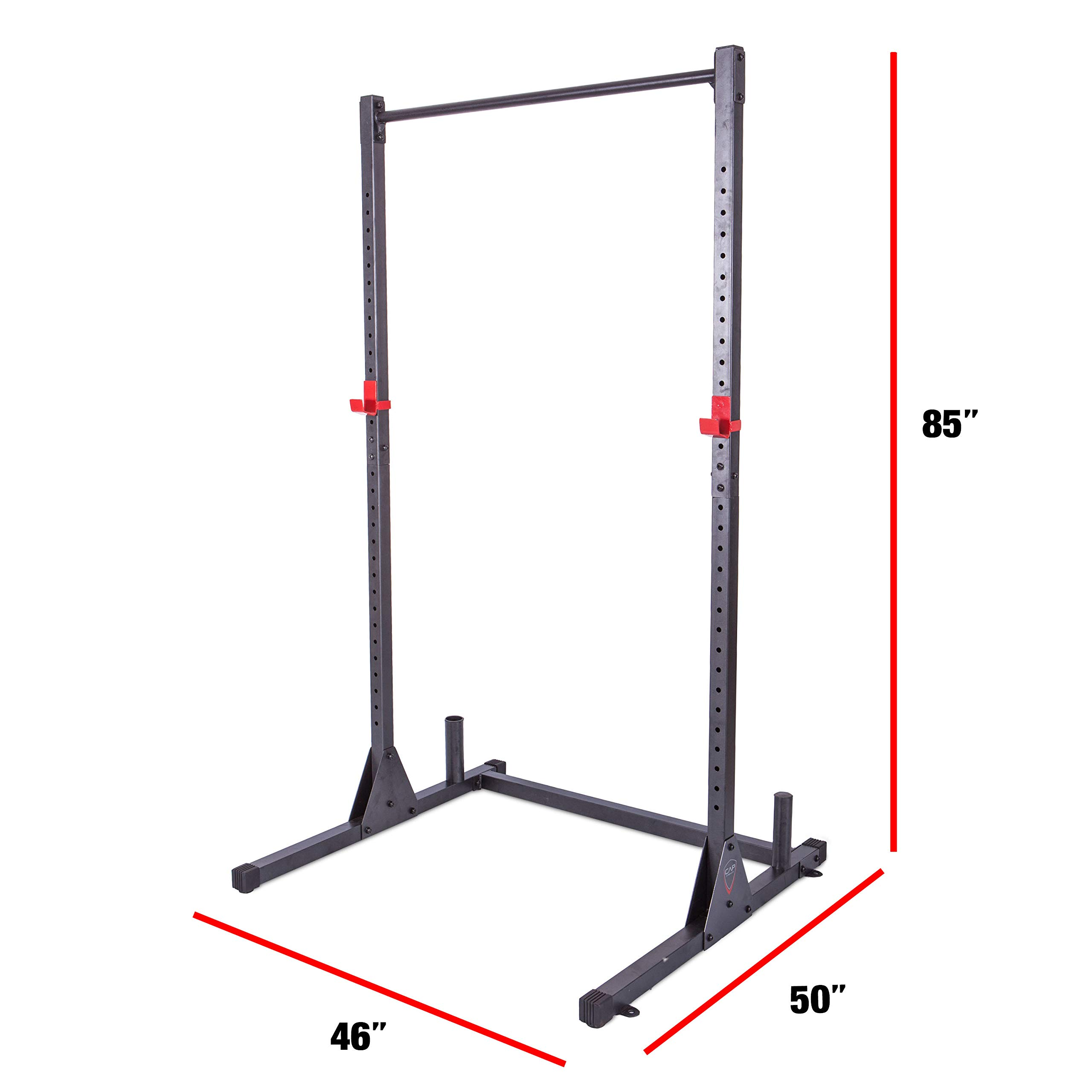 CAP Barbell Power Rack Exercise Stand, Multiple Colors by CAP Barbell (Image #3)