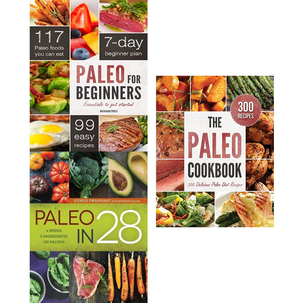 Paleo for beginners, paleo in 28 and paleo cookbook 3 books collection set pdf epub