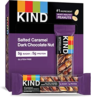 product image for KIND Bars, Salted Caramel & Dark Chocolate Nut, Gluten Free, 48 Count