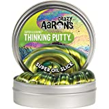 Crazy Aaron's Thinking Putty - Super Illusions: Super Oil Slick - Fidget Toy For All Ages - Stretch, Change, Play & Create -