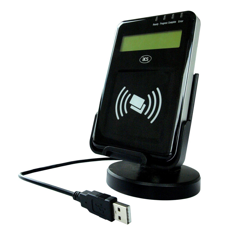 Luxtech ACR1222L Lector Tarjeta USB NFC Visual Vantage con ...