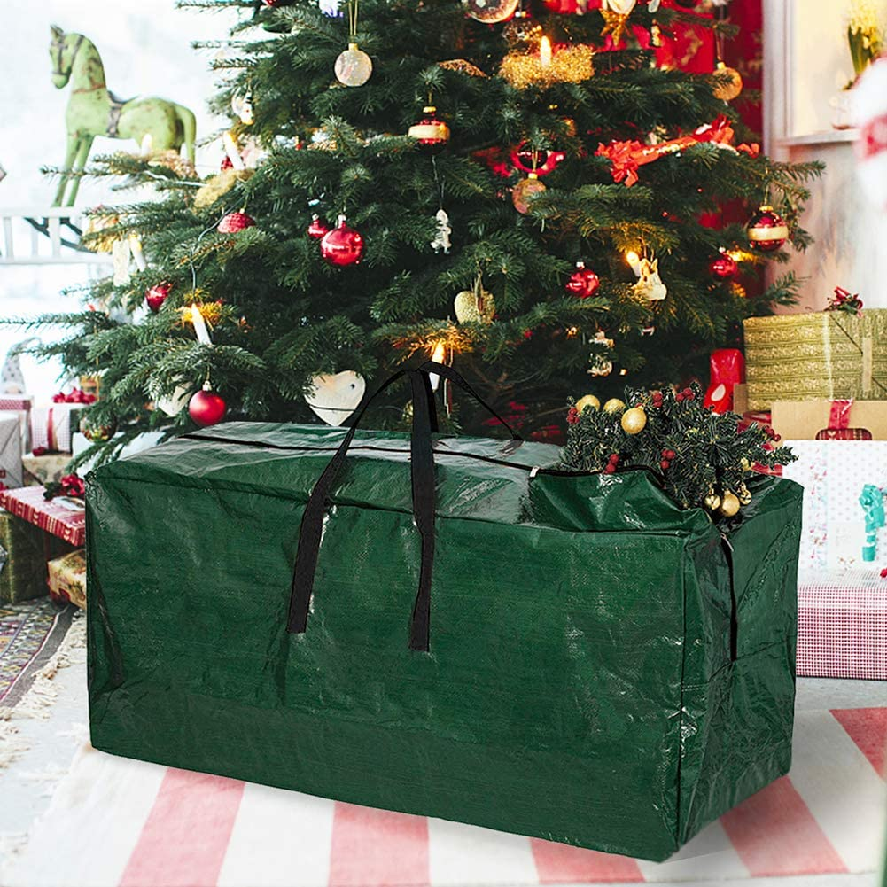 Insects,Red Skypatio Christmas Wreath Storage Bag 30 X 9 Water Resistant Fabric Storage Dual Zippered Bag for Artificial Christmas Wreaths,Canvas Handles Protect Holiday Wreath from Dust