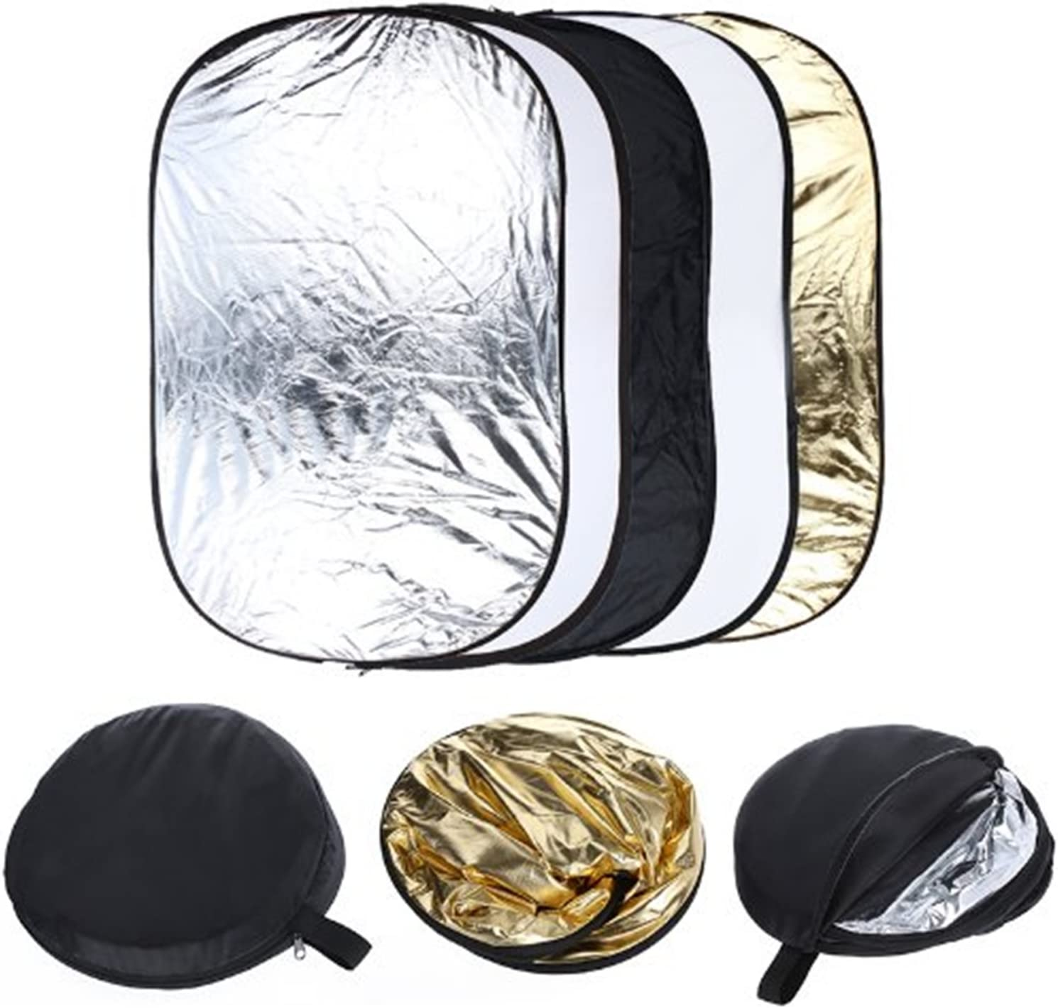 61x91cm 5 in 1 Portable Pography Collapsible Light Reflector CHUN-Accessory