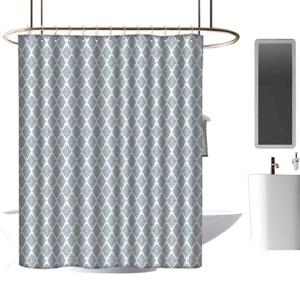 Amazon.com: homehot cortinas de ducha para baño azul de la ...