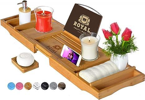 Wooden Luxury Bathtub Tray