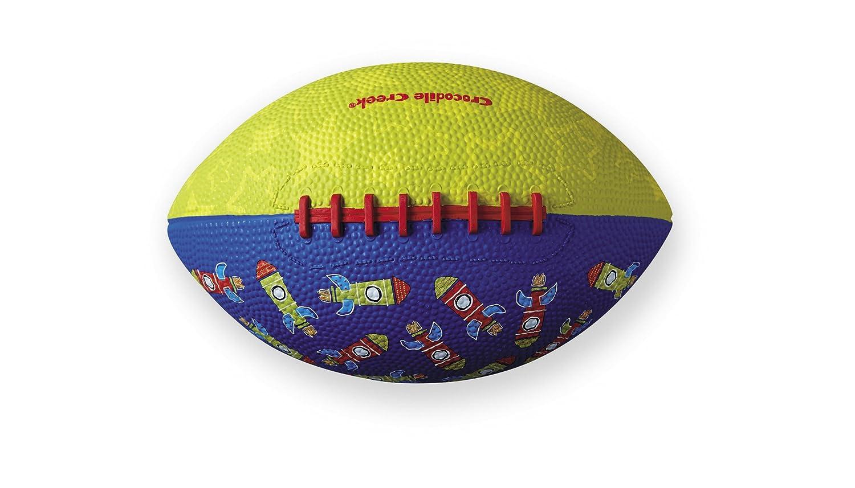 Crocodile Creek - diseño de Rocket/Verde Cepillado de fútbol ...