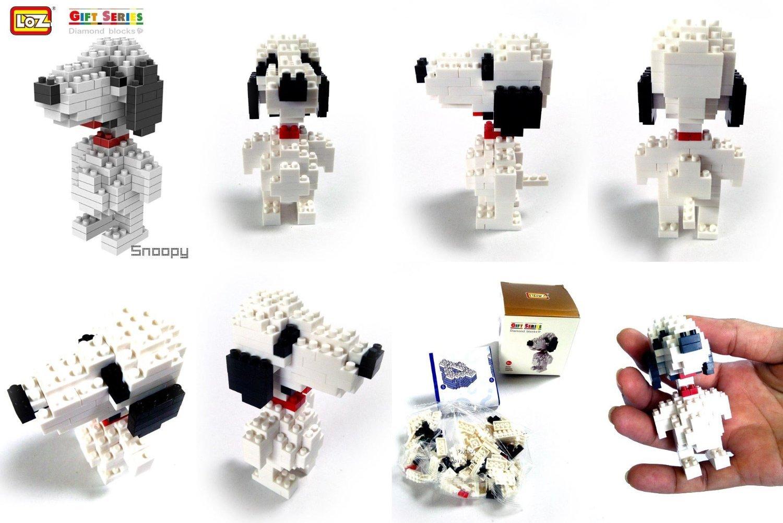 Loz Diamond Blocks Nanoblock Building Block Snoopy 2