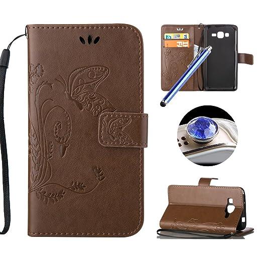 5 opinioni per Samsung Galaxy Core Plus Cover Portafoglio Cuoio,Samsung Galaxy Core Plus