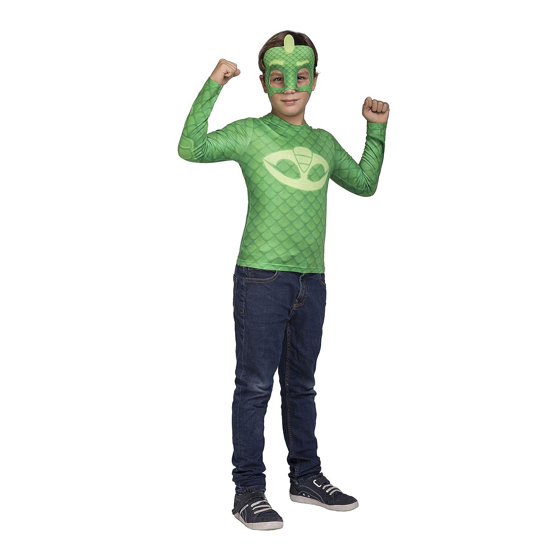 My Other Me Me Me- Gekko PJ Mask Disfraz Color verde 3-4 Años (98 ...