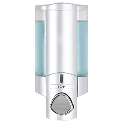 Attrayant Better Living Products 76130 AVIVA Single Bottle Soap And Shower Dispenser,  Satin Silver