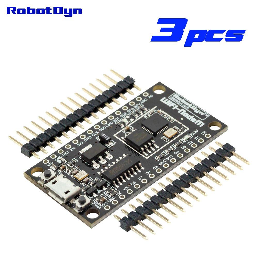 3 Pcs Compact Nodemcu V3 Lua Wifi Module Integration Of Esp8266 +