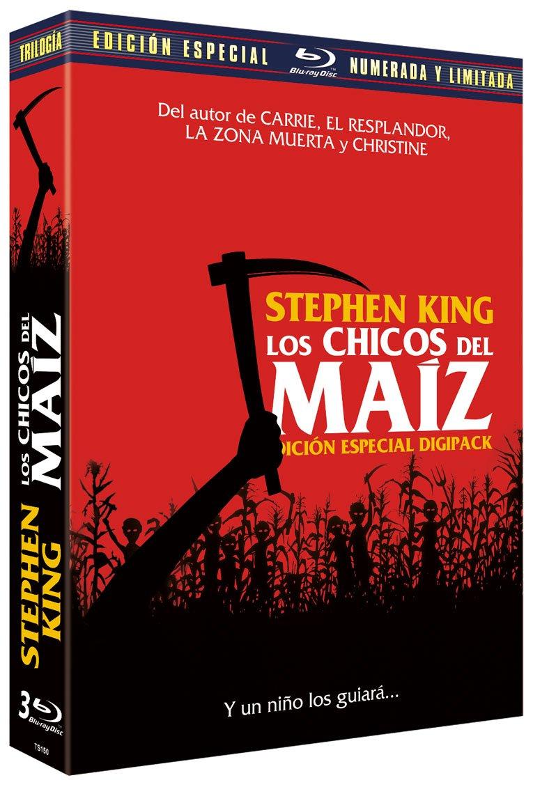 Los Chicos del Maíz I-II-III Edición Digipack Blu-ray: Amazon ...