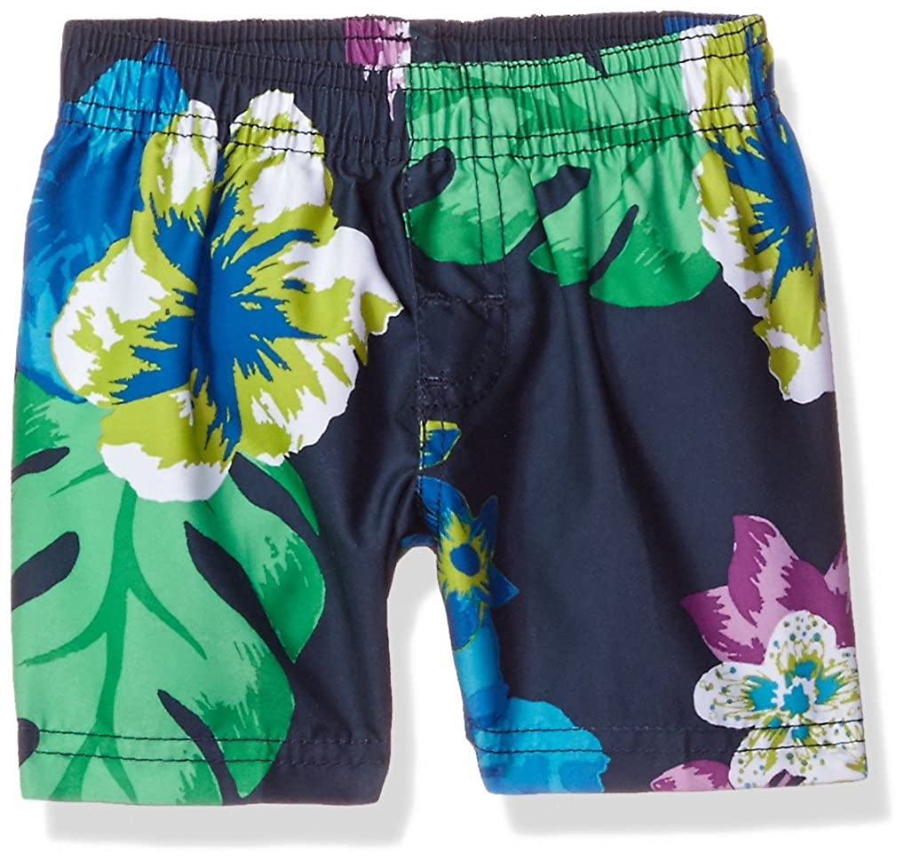 Kanu Surf Baby Boys' Papagayo Floral Swim Trunk 4442